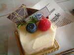 もんごりあんはちみつのムースケーキ.JPG